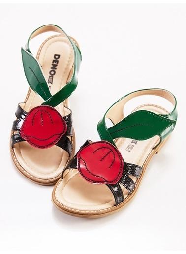 Denokids Gelincik Kız Sandalet Renkli